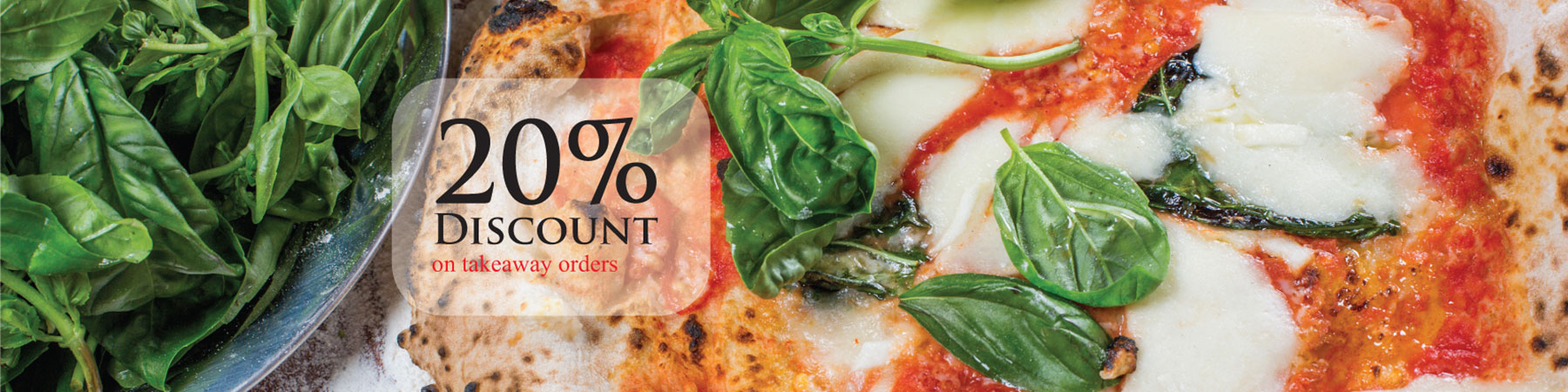20% Discount at La Lupa Ristorante and Pizzeria in Poole